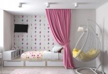 Проект детской комнаты для юной леди