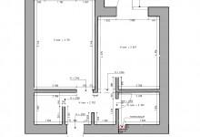 Прошу помочь с перепланировкой квартиры.