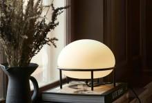 Уютный настольный светильник
