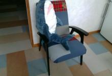Пятьдесят оттенков белого. Кресло. Новая жизнь.