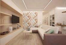 Дизайн двухкомнатной квартиры, ЖК Времена Года