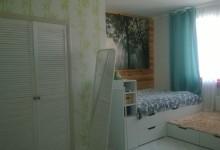 """Кухня с тетрисом"": комната. Danger: белые стены!"