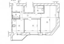 Размышления о перепланировке  квартиры 2х в 3х