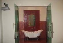 Разные ванные комнаты и столешницы.      (Часть 1)