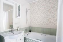 Реализованный интерьер ванны