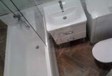 Ремонт санузла в двухкомнатной квартире в старом фонде