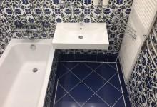 Ремонт в ванной комнате, что получилось