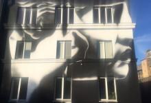 Роспись здания в Санкт-Петербурге