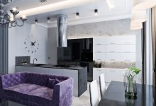 Дизайн квартиры 118 метров: Zelenina
