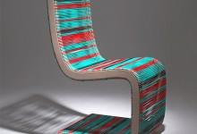 Яркое кресло для отдыха