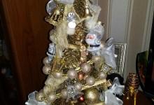 Моя новая елка. Без ящика)))