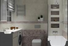 Ванная комната 4 м кв