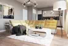 Zhemchuzhina 160м| Дизайн квартиры в Балтийской жемчужине