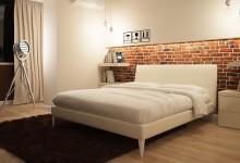 Спальня с элементами лофта