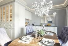 SAMOCVETI - 110M | Дизайн квартиры в классическом стиле