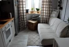 Серо-бело-деревянное. Кухня.