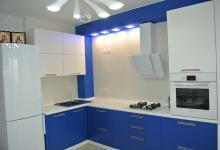 Синий цвет для кухни???