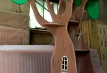 Сказочное дерево-стеллаж