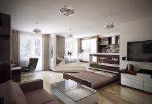 Смелые решения для небольших квартир!