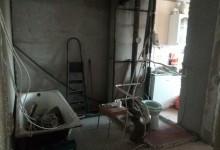 Снос сантехкабины и план новой ванной комнаты