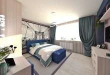 Современная спальня для прекрасной пары