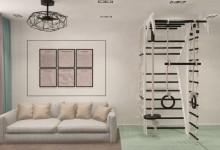 Современный дизайн квартиры с двумя санузлами
