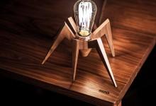 Декоративный светильник-паук