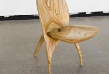 Скульптурные формы складного стула