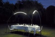 Светильник для сада: арка света