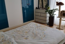 Светлая квартира с панорамными окнами - часть 1 - Спальня