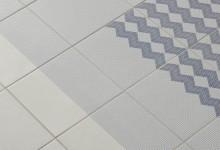 Легкие узоры на плитке