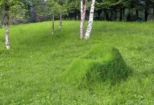 Зеленое кресло - живая садовая мебель