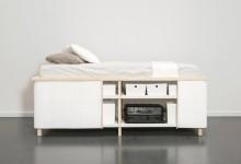 Кровать-комод для маленькой квартиры