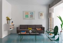 Цветные кресла: круг в квадрате