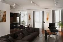 Tvin Piks — 65m | Квартира современного мужчины