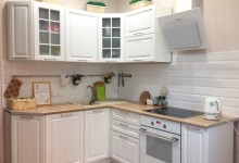 Уютная белая кухня 11 кв м и куча лайфхаков, как сэкономить целое состояние