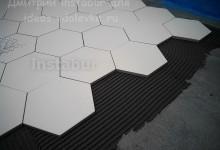 Укладка шестигранной метлахской плитки Original Style