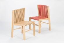 Спинка-гармошка для деревянного стула