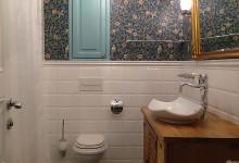Ванная комната в трехкомнатной квартире. ЖК Лосиный остров