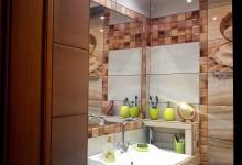 Ремонт в маленькой ванной. Волшебство перестановки. Рекомендую! ))