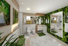 Ванная в лесу или лес в ванной