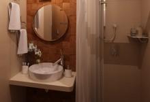 Ванная с открытым душем. Варианты дизайна