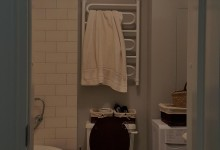 Ванная в моем английском стиле