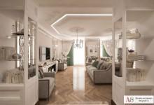 «Викторианская классика» в трёхкомнатной квартире