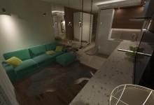 Однокомнатная квартира для сдачи в аренду