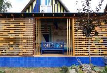 Воплощенный проект загородной веранды
