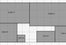 Вопрос по перепланировке 3-комнатной 61м2 в 4-комнатную