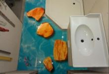 Выбор сюжета для 3D пола ванной комнаты. Личный опыт.