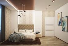 """Спальня """"уютная, но сдержанная"""""""