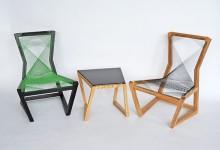 Дизайнерские стулья: сложная геометрия